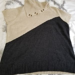 Avenue Sweater Collection Two Tone Sz 22/24